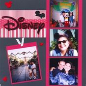 Disney Scrapbook Page.  Great times, great memories, great way to preserve them!
