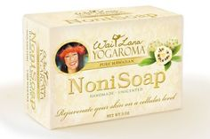 Wai Lana Noni Soap (Unscented) by Wai Lana. $5.95. This product does not contain animal byproducts and has not been tested on animals.. Lovingly made by hand, our Noni Soap is specially formulated to soothe, tone, and protect your skin, leaving it clean, smooth, radiant, and positively rejuvenated.   Net wt.: 3 oz  This product does not contain animal byproducts and has not been tested on animals