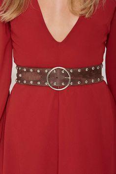 Ada Eden Leather Belt | Shop Accessories at Nasty Gal!