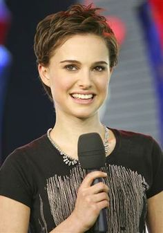 Natalie Portman Very Sexy Short Cropped Hairstyle