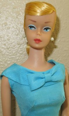 Lemon Blonde Swirl Ponytail Barbie