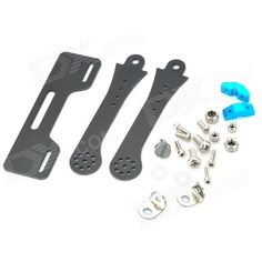 Glass Fiber FPV Monitor Mount Holder / Display Mounting Bracket for Transmitter - Black. Material: 2mm Glass Fiber; Suitable for the transmitter, and display mast have fixed nut; Lightweight, High strength; Suitable for 7 inch or 8 inch monitor; Compatible with futaba 9c 10c JR 9c WFLY transmitter etc. Tags: #Hobbies #Toys #R/C #Toys #Other #Accessories