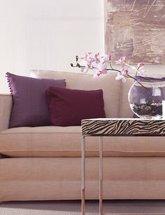 Mohawk Color Trends: Blush Radiant Orchid, the 2014 Pantone color of the year, has sparked renewed interest in blush tones and corals, as well as bold berry and magenta shades.