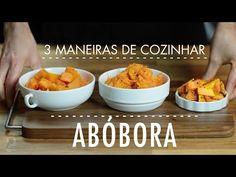3 MANEIRAS FÁCEIS DE COZINHAR ABÓBORA para preservar o sabor - YouTube