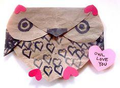 """Owl Love you!!"" So cute!!"