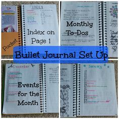 If you have all kinds of notes in all kinds of places, and maybe even several different planners / notebooks, this is the hub for you!  Keep all your notes and daily to-dos, etc in a BULLET JOURNAL!