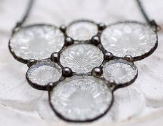 Vintage Buttons Necklace, via Flickr.