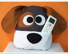 Almofada Baby Dog Porta Objetos