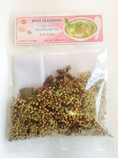 Traditional Spice Seasoning for Pho Soup, 1.76 Oz (Pack of 3), ,