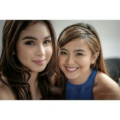 "This is the pretty Julia Barretto and the lovely Miles Ocampo smiling for the camera while helping out with the cast of ""And I Love You So"" during the taping of the ABS-CBN 2015 Christmas Station ID theme song, ""Thank You for the Love!"" Indeed, Miles and Julia are pretty Kapamilya talents and pretty Star Magic talents. They're also kind and helpful. #JuliaBarretto #MilesOcampo #AndILoveYouSo #ABSCBNChristmasStationID #ThankYoufortheLove Child Actresses, Child Actors, Enrique Gil, Star Magic, Pretty Star, Daniel Padilla, Liza Soberano, Nadine Lustre, Jadine"