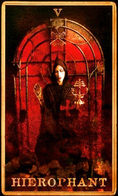 Marilyn Manson | Tarot | Holy Wood | Herophant