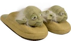 Yoda Star Wars Slippers - Must Have!