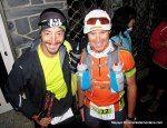 Tito Parra y Salva Calvo en la salida del Ultra Trail Valls d Aneu 2014 93k.