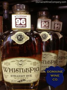 WhistlePig Rye Whiskey tasting with owner Raj Peter Bhakta at Domaine Wine Company Fine Wine Dallas