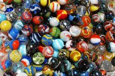 Playing & collecting marbles