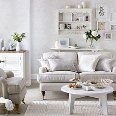 Ivory Room made cosy with texture