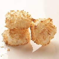 more coconut macaroons