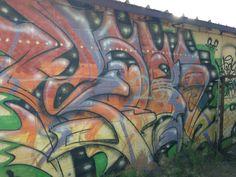 More Winslow graffiti house
