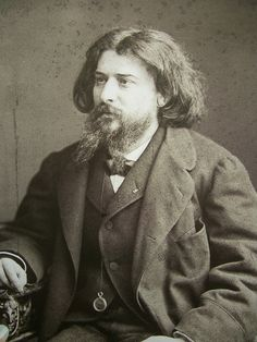 Alphonse Daudet photo by Nadar, 1891 Famous Men, Famous Faces, Famous People, Book Writer, Book Authors, Foto Face, Alphonse Daudet, Writers And Poets, Impressionism