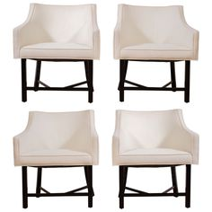 Harvey Probber Dining Chairs | From a unique collection of antique and modern dining room chairs at http://www.1stdibs.com/furniture/seating/dining-room-chairs/