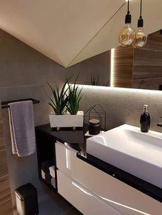 Downstairs Bathroom, Attic Bathroom, Small Bathroom, Arch Interior, Interior Design, Home Studio Photography, Living Styles, Sweet Home, Decoration