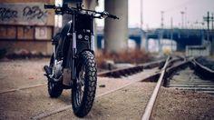 Aprilia Moto 6.5 Street Tracker by Imbarcadero14 Venice #motorcycles #streettracker #motos | caferacerpasion.com
