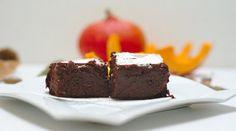 Gâteau au chocolat potimarron sans beurre ni farine sans gluten