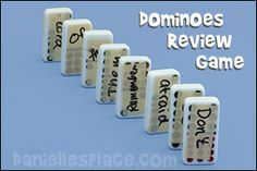 Dominoes Bible Verse Review Game for Children's Ministry and Sunday School from www.daniellesplace.com