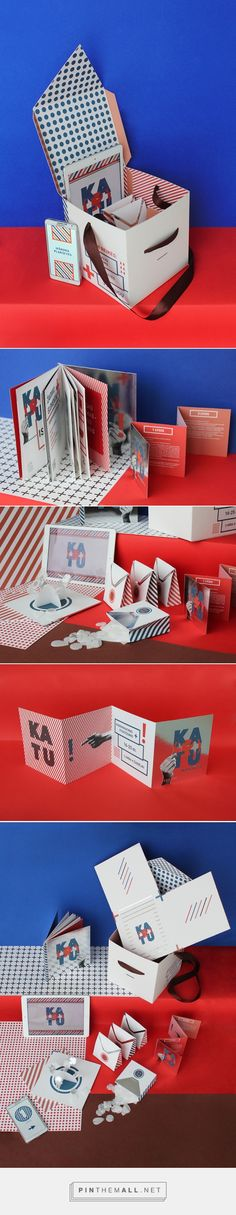 KA(R)TU Communication Game (Student Project) -Packaging of the World - Creative Package Design Gallery - http://www.packagingoftheworld.com/2016/01/kartu-communication-game.html