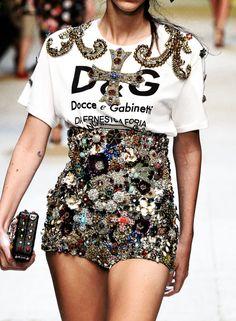 Dolce & Gabbana Spring 2017, Milan Fashion Week