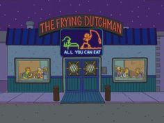The Frying Dutchman também está chegando no Universal's Springfield!