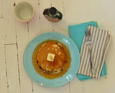 Recipe File: Sour Cream Pancakes from Downtown Romantic