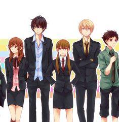 Hokke, Tonari no Kaibutsu-kun, Natsume Asako, Yoshida Haru, Mizutani Shizuku, Sasahara Sohei