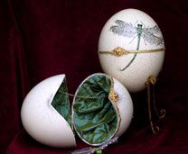 Beautiful egg art!