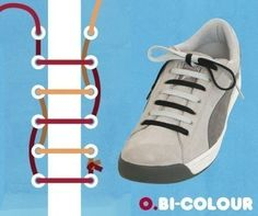31+ Cool Ways to Lace Shoes Creatively | Skor