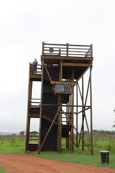 Look out tower Jungle House, Lookout Tower, Tower House, A Frame House, Game Reserve, Bird Watching, Hostel, Stargazing, Sheds