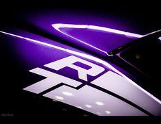Dodge Challenger, Plum Crazy Purple, Los Angeles