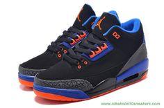 Black/Blue/Orange 136064-084 AIR JORDAN 3 RETRO