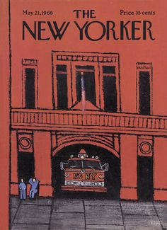 The New Yorker - Saturday, May 21, 1966 - Issue # 2153 - Vol. 42 - N° 13 - Cover by : Robert Kraus
