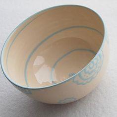 Vintage look  ceramic bowl  by PotsbyNives on Etsy