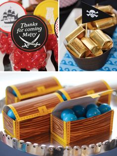 Pirate Party favors & treat ideas!