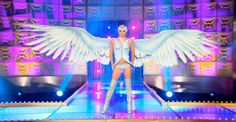 Courtney Act's wings | RPDR 6 Animal runway look