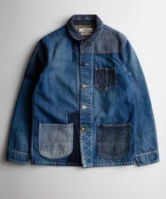 Mens Fashion For Sale Amo Jeans, Jeans Denim, Blue Jeans, Denim Jacket Men, Sweater Jacket, Denim Vintage, Work Jackets, Mode Inspiration, Denim Fashion