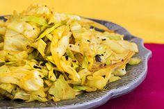 From what was perhaps our toughest reader recipe competition to date, comes Ritu Kapoor's winning recipe for Indian style cabbage. Chosen because we love yummy ideas for cabbage, it's quick and easy and can be served as an accompaniment to many of the recipes featured in this issue. Ritu says she usually serves it with her South Indian fish curry.