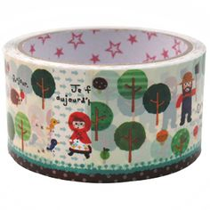 If I have to post gifts I love using quirky parcel tape