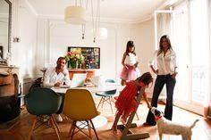 Tracy Francelet-Bouchard et Jean-Philippe Bouchard, Léonie 7 ans et Aimée 4 ans | The Socialite Family