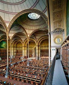 La Bibliothèque nationale de France (BNF). Elle est la plus importante bibliothèque de France et l'une des plus importantes au monde. Répartie sur 7 sites, la plus historique date du XVIIème siècle, dans le 2ème arrondissement de Paris, surnommée le quadrilatère Richelieu.