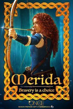 #OnceUponATime Pôster Season 5 #Merida | ABC