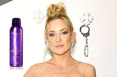 Look of the week: Kate hudson! The secret to a perfect top knot