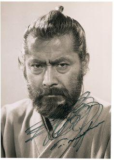"Toshirô Mifune as Dr. Kyojô Niide  in the 1965 film ""Red Beard"" by Akira Kurosawa"